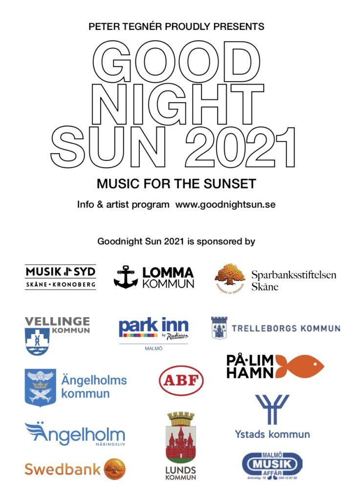 Goodnight Sun 2021 sponsors